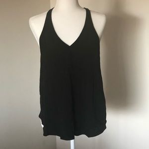 ⭐️UO Black Tank with Open Back